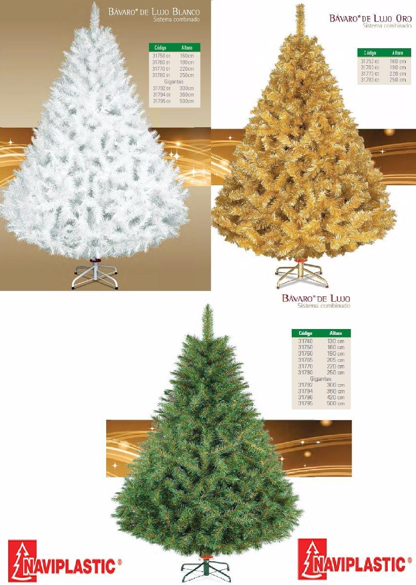 Arbol De Navidad Artificial Bavaro D Lujo 16 Mt Naviplastic