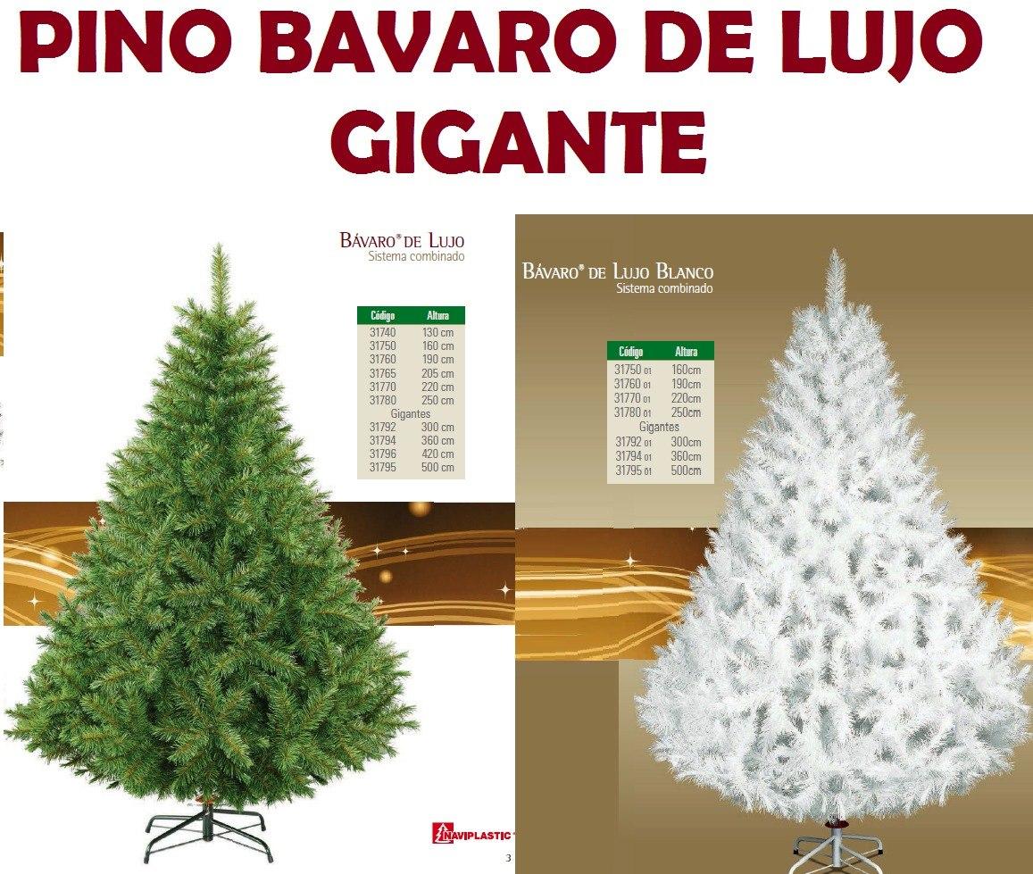 arbol de navidad artificial gigante bavaro de lujo 300 mts cargando zoom - Arbol De Navidad Artificial