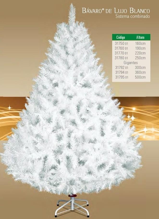 Arbol de navidad artificial gigante bavaro de lujo - Arbol artificial de navidad ...