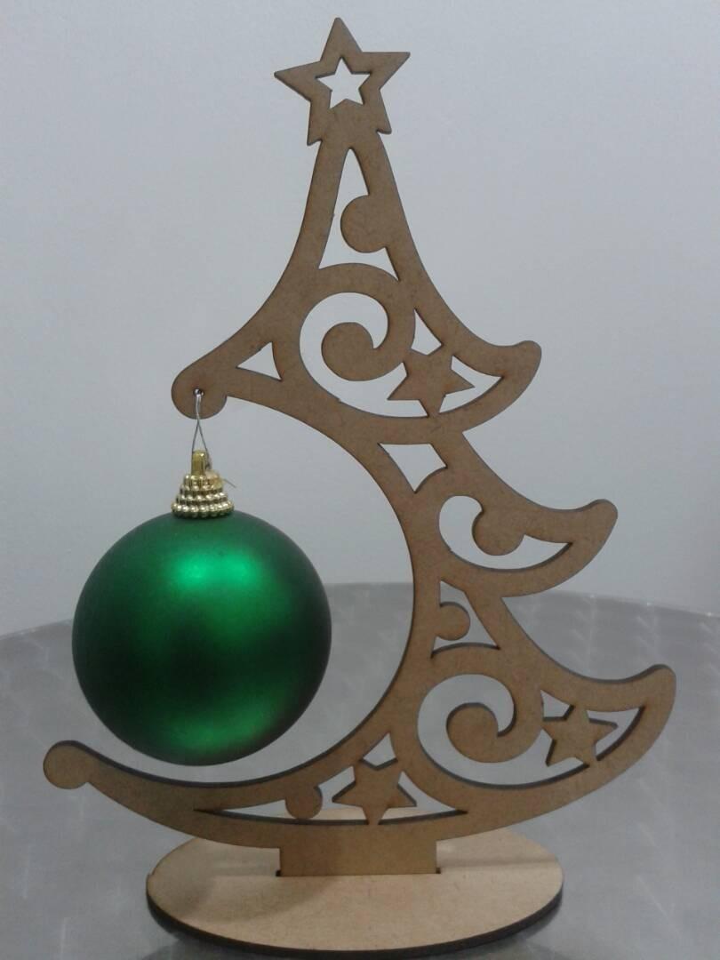 Arbol de navidad bambalina 23 cm alto en madera mdf laser bs 0 62 en mercado libre - Arboles de navidad de madera ...