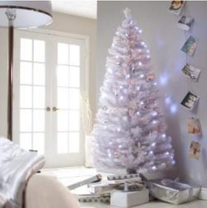 Arbol de navidad blanco fibra estrella punta 2 10 mts remate en mercado libre - Arboles de navidad blanco decoracion ...