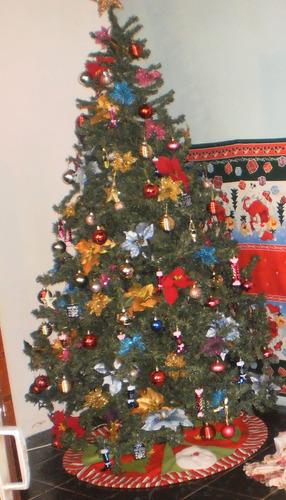 arbol de navidad canadian 2.15 mts