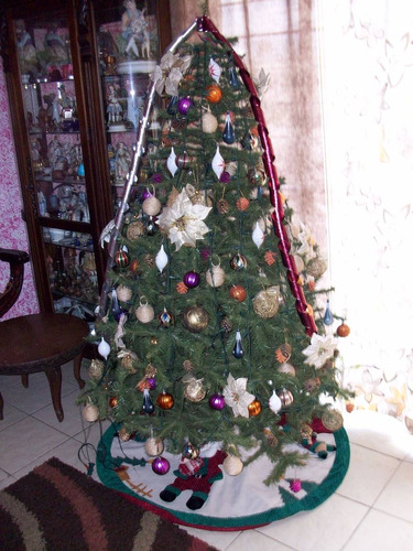 arbol de navidad con todo, como en en la foto usado