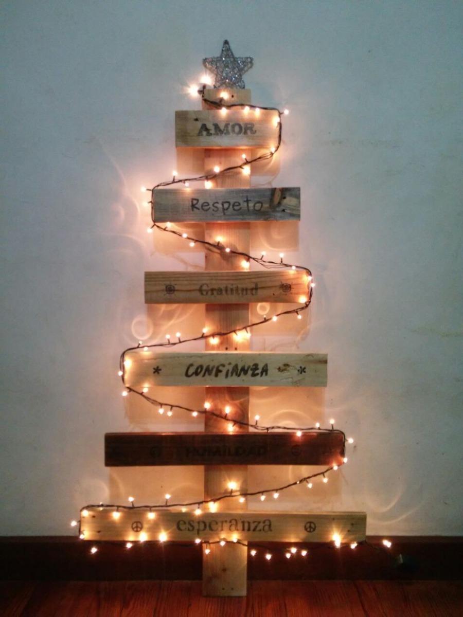 arbol de navidad de madera artesanales - Arbol De Navidad De Madera