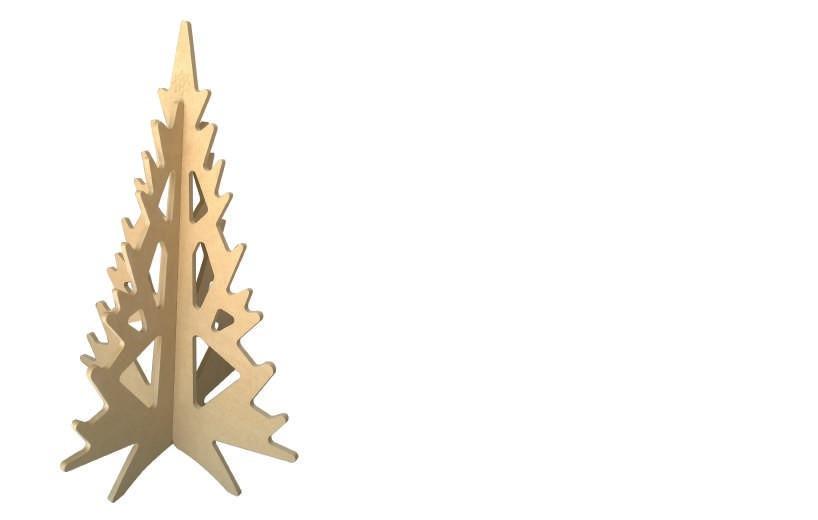 Arboles de navidad en madera affordable arbol navidad - Arboles de navidad de madera ...
