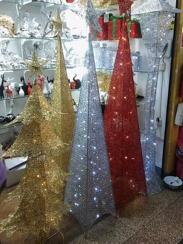 arbol de navidad frondoso 1.50mts aguja de pino modelo 2018