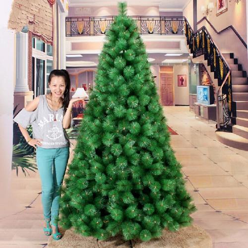 arbol de navidad frondoso 2.10mts aguja de pino modelo 2018