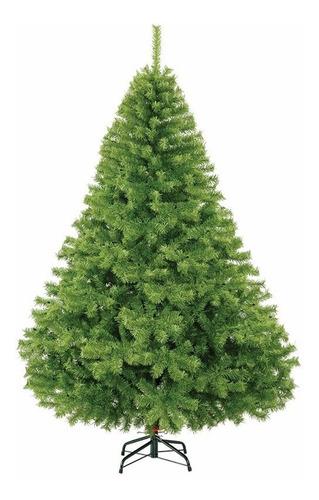 arbol de navidad frondoso naviplastic 205cm canadiense pino
