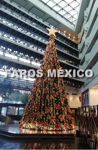 árbol de navidad gigante 12 metros entrega inmediata
