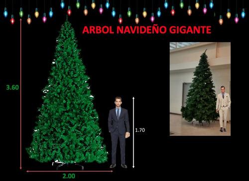 arbol de navidad gigante 3.60