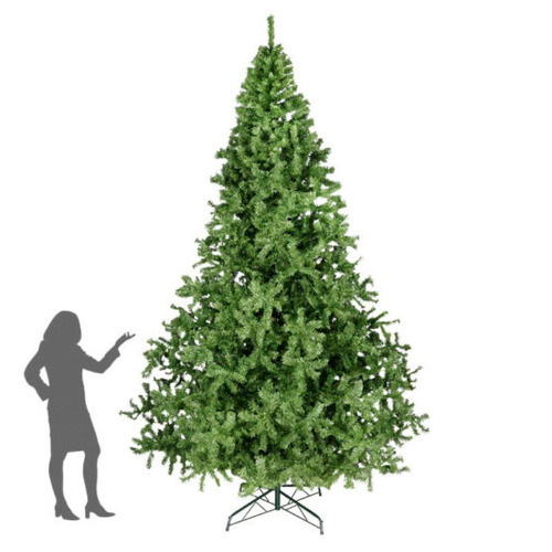 arbol de navidad gigante pino verde pachon 300cm naviplastic