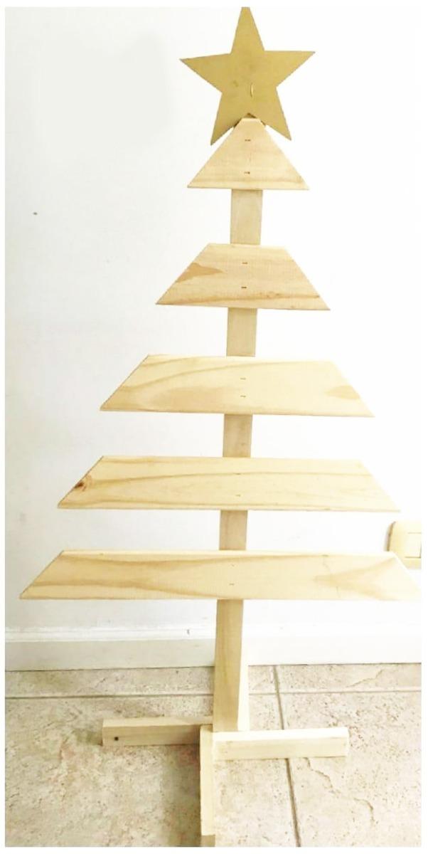 df238b6b71892 arbol de navidad madera de pino sin pintar 1.00 m. Cargando zoom.