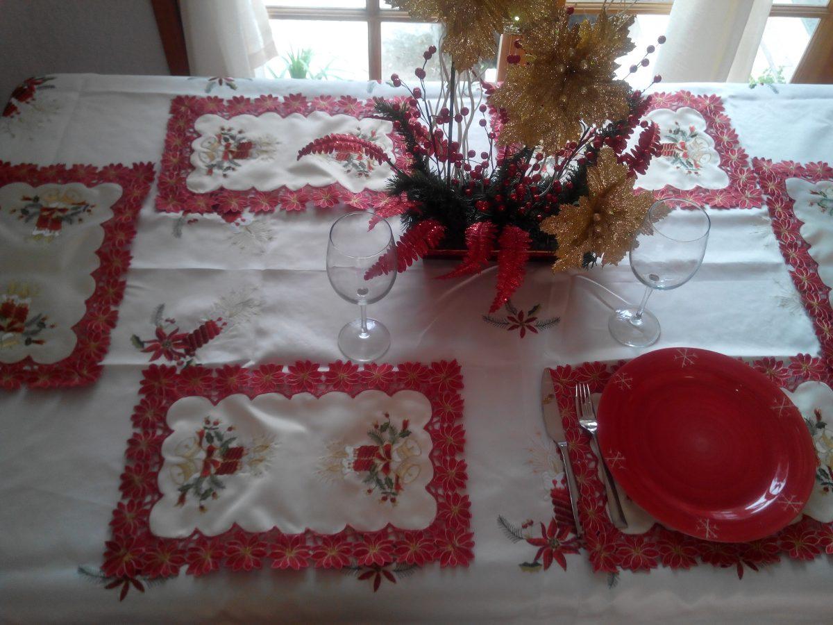 Arbol de navidad manteles navide os 1 en mercado libre - Manteles navidenos ...