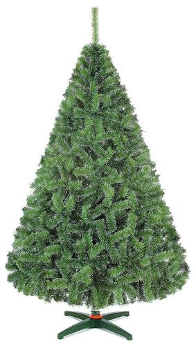arbol de navidad monarca de lujo verde nevado cm alt