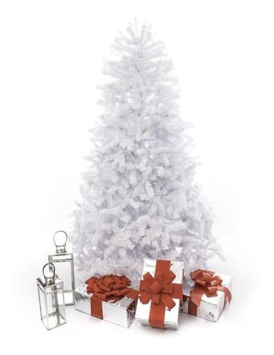 árbol de navidad monterrey blanco 2,20mts