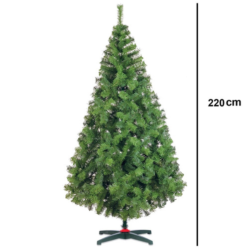 arbol de navidad naviplastic boston 220 cms verde