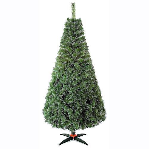 arbol de navidad nevado pino artificial naviplastic 190cm