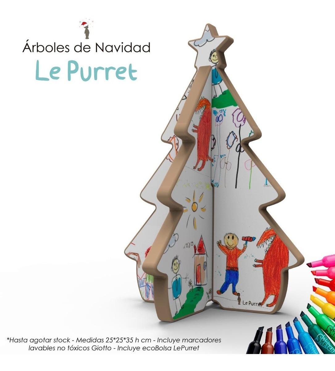 árbol De Navidad Para Pintar Y Decorar Le Purret