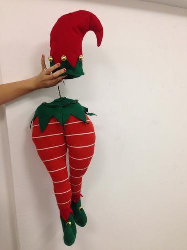 arbol de navidad piernas de duende y santa   3 pares$1480.00