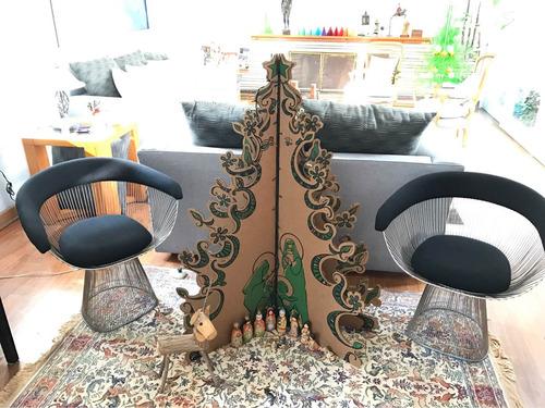 árbol de navidad plegable en cartón