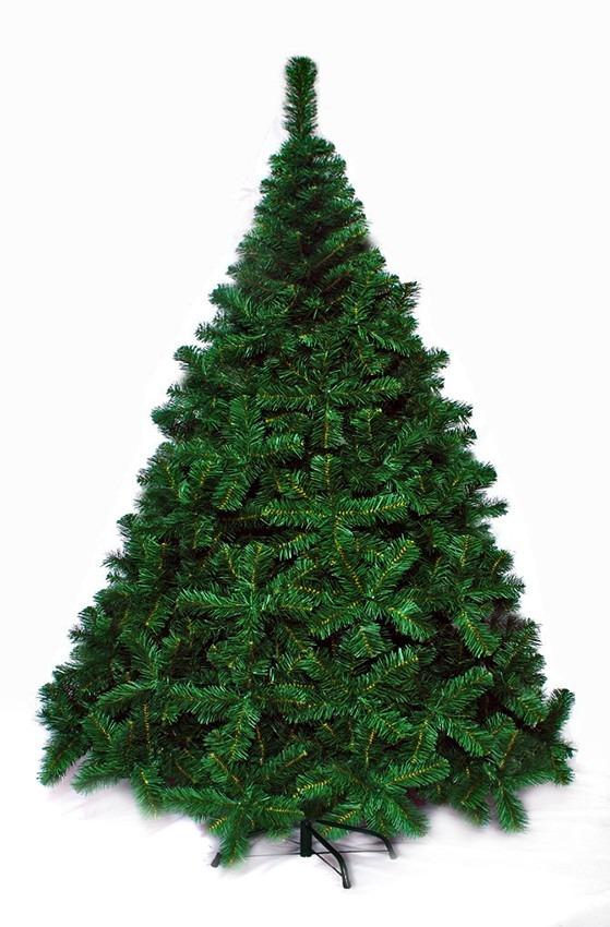 Árbol De Navidad Premium 2,10 Mts Pie Metálico - Sheshu - $ 2.999,00 ...