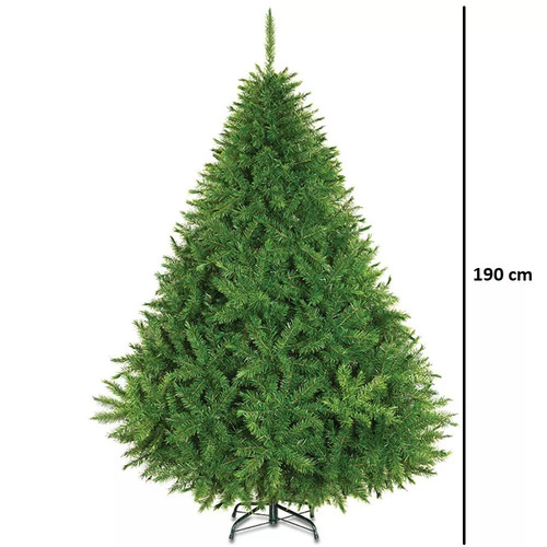 arbol de navidad voluminoso pachon 190cm naviplastic alpino