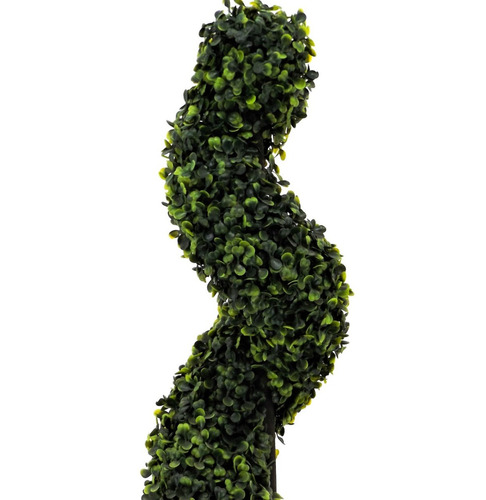 arbol espiral de lujo 4pz artificial green line envio gratis