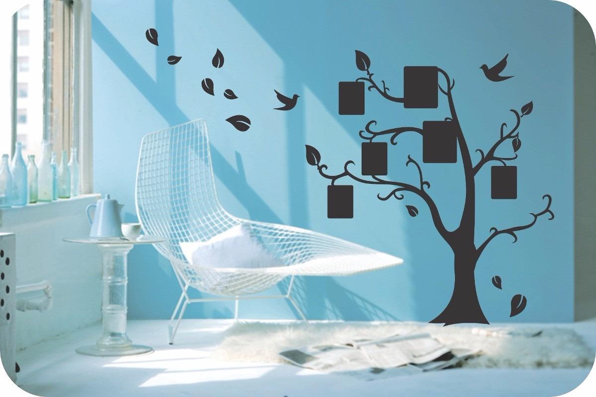 arbol familiar vinilo decorativo de arbol fotogrfico