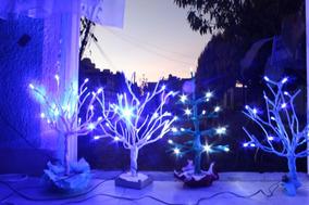 árbol Led 50 Cm Luces Centro De Mesa Lámpara