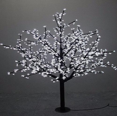arbol led cherry 2 m con 1000 leds blancofrio envio gratis