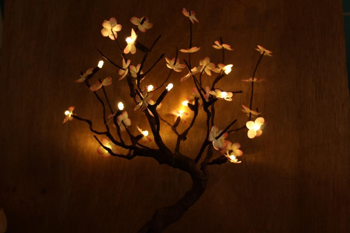 árbol Led Flores Sencillas Grandes Hasta 50 Cm 37900 En Mercado