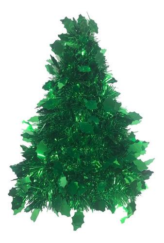 árbol mesa navidad troquelado hoja metal / v.pino 30 cm #350