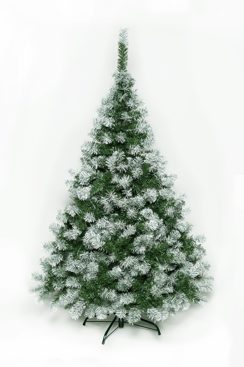 Árbol De Navidad Montañes Deluxe Nevado 1.80mts Base Metal - $ 3.799 ...