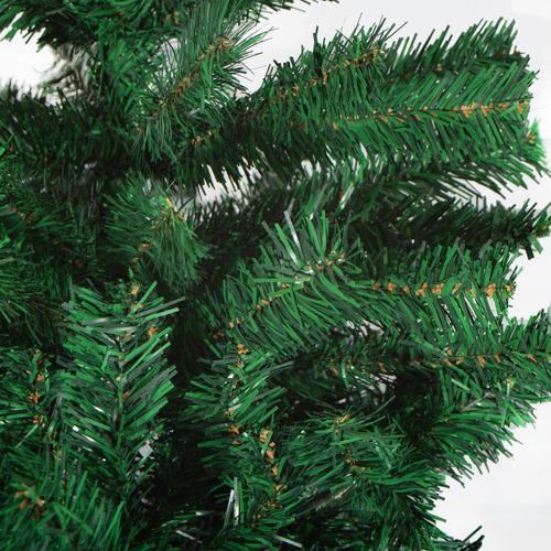 arbol navidad 195cm 900 ramas base metalica navidad - fld-k6