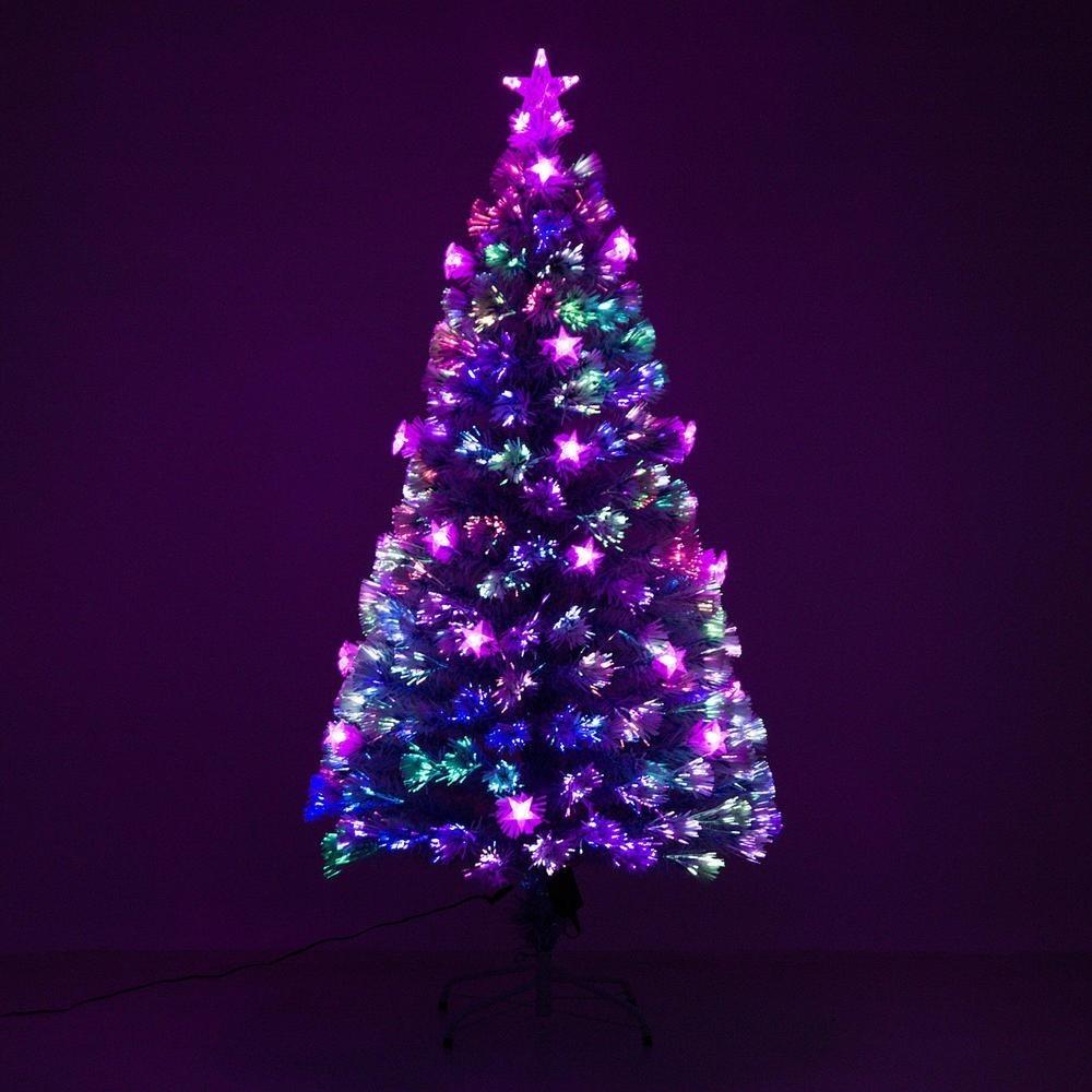5f8cd57dde1 Arbol Navidad 5  Fibra Optica Led 8 Configuraciones Luz Xt P ...