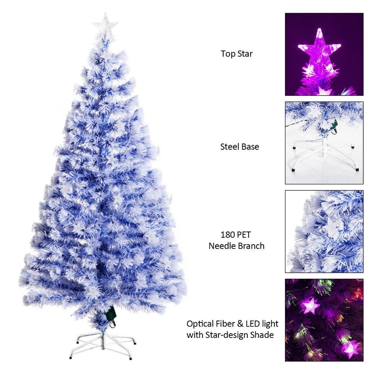 Arbol Navidad 8 Configuraciones Luz Blanco-azul Xtreme P ...