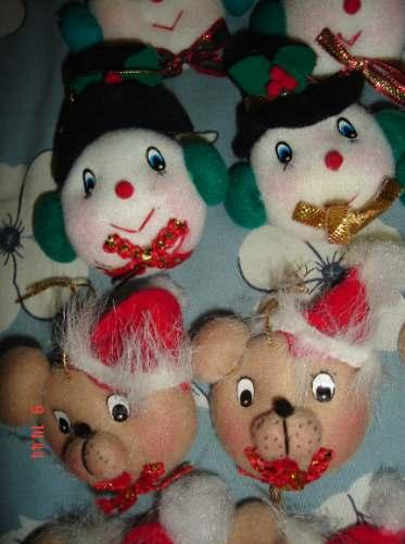 10 adornos para el arbol de navidad osos angelitos etc nvd - Adornos para el arbol de navidad ...