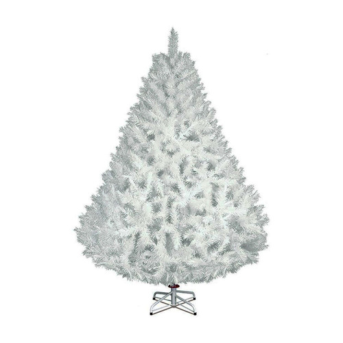 arbol navidad blanco frondoso artificial naviplastic 1.9m