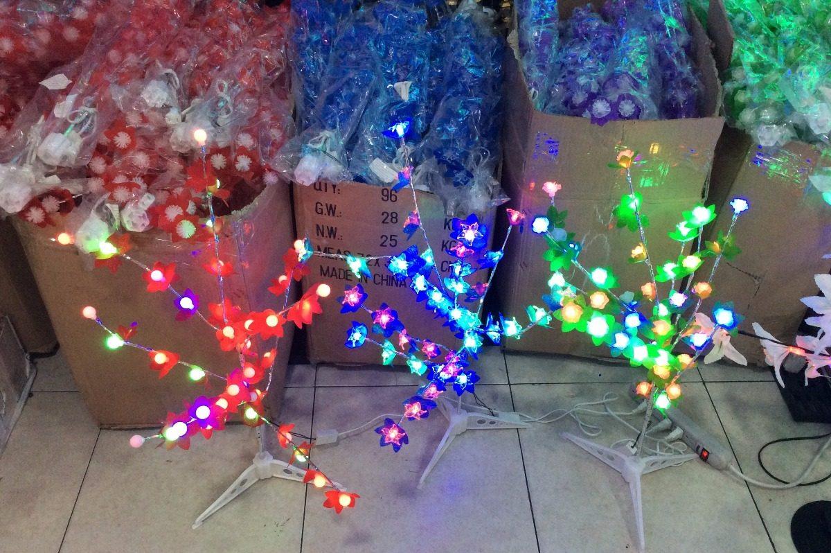 Arbol navidad chamizo luces led nuevo modelo 60 centimetros en mercado libre - Luces led arbol navidad ...