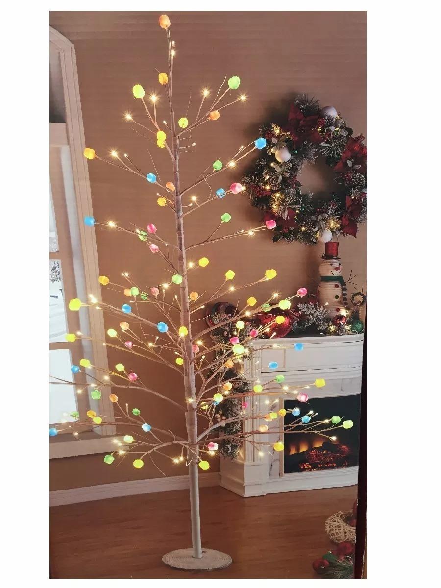 árbol Navidad Con Bombones Y Luces Led 12 Meses Sin Interes