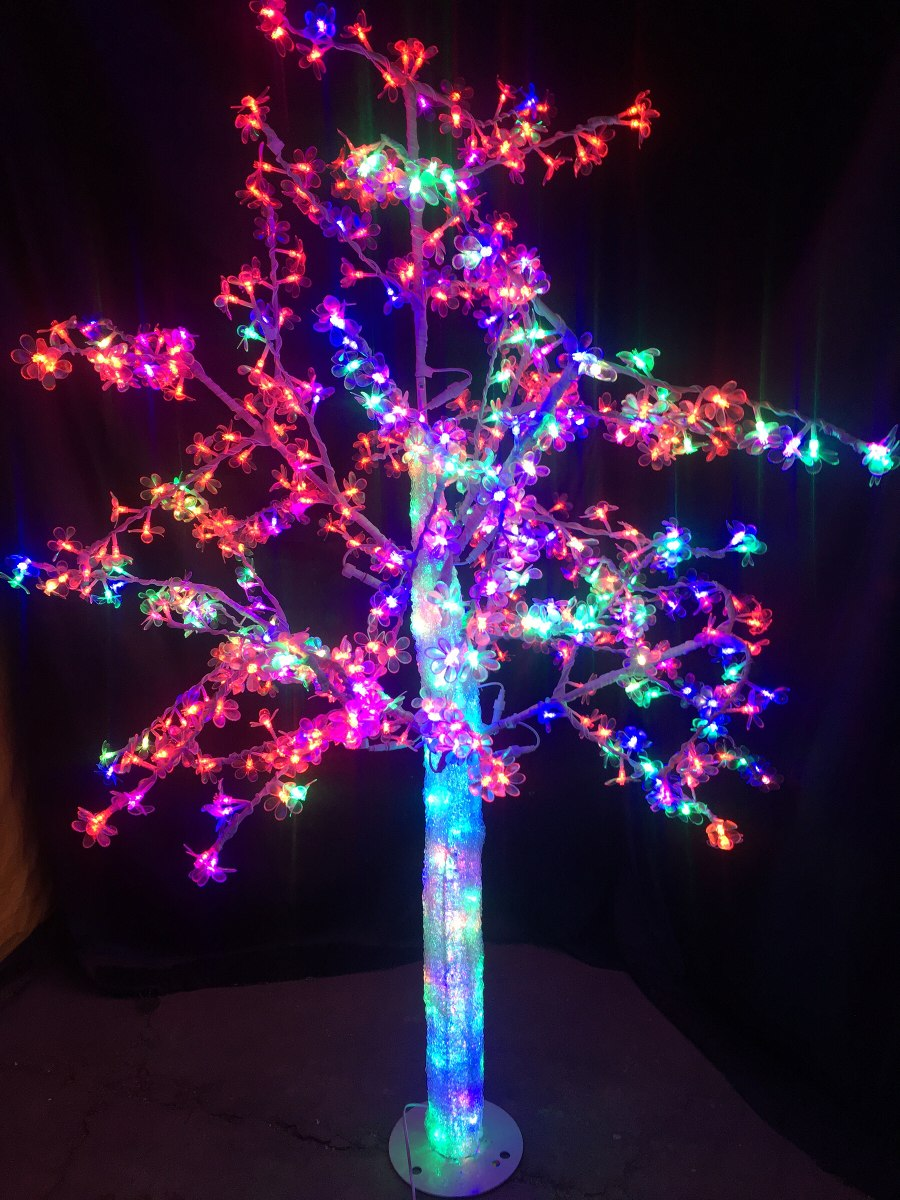 Luces led arbol navidad perfect with luces led arbol navidad realice decoracines y regalos - Luces led arbol navidad ...