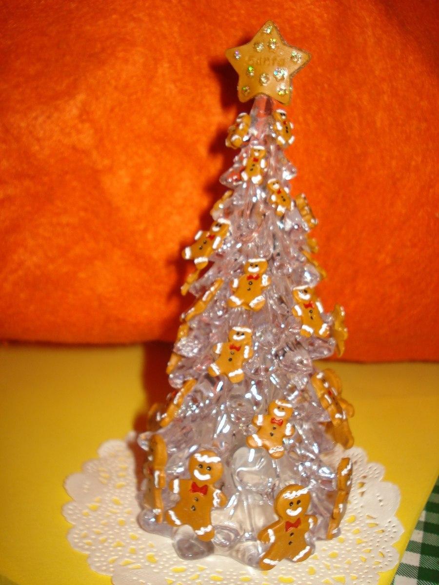 Arbol navidad escritorio oficina decorado galletas - Comprar arboles de navidad decorados ...
