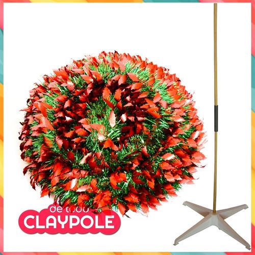 arbol navidad espiral 1,50 mts plegable c/ efecto metalizado