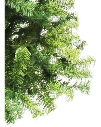 arbol navidad frondoso lujo 2.2m naviplastic pino canadiense