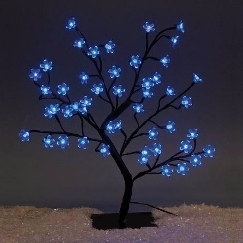 a72ff37cd00 Arbol Navidad Luminoso Bonsai Luces Led Azul Flor Cerezo -   850