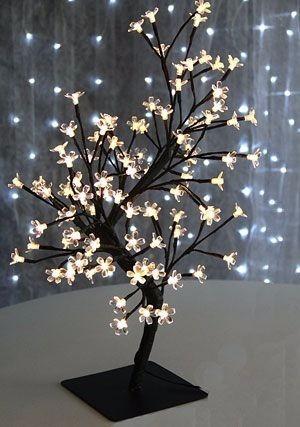 Arbol Navidad Luminoso Bonsai Luces Led Calido Flor Cerezo - $ 1.650 ...