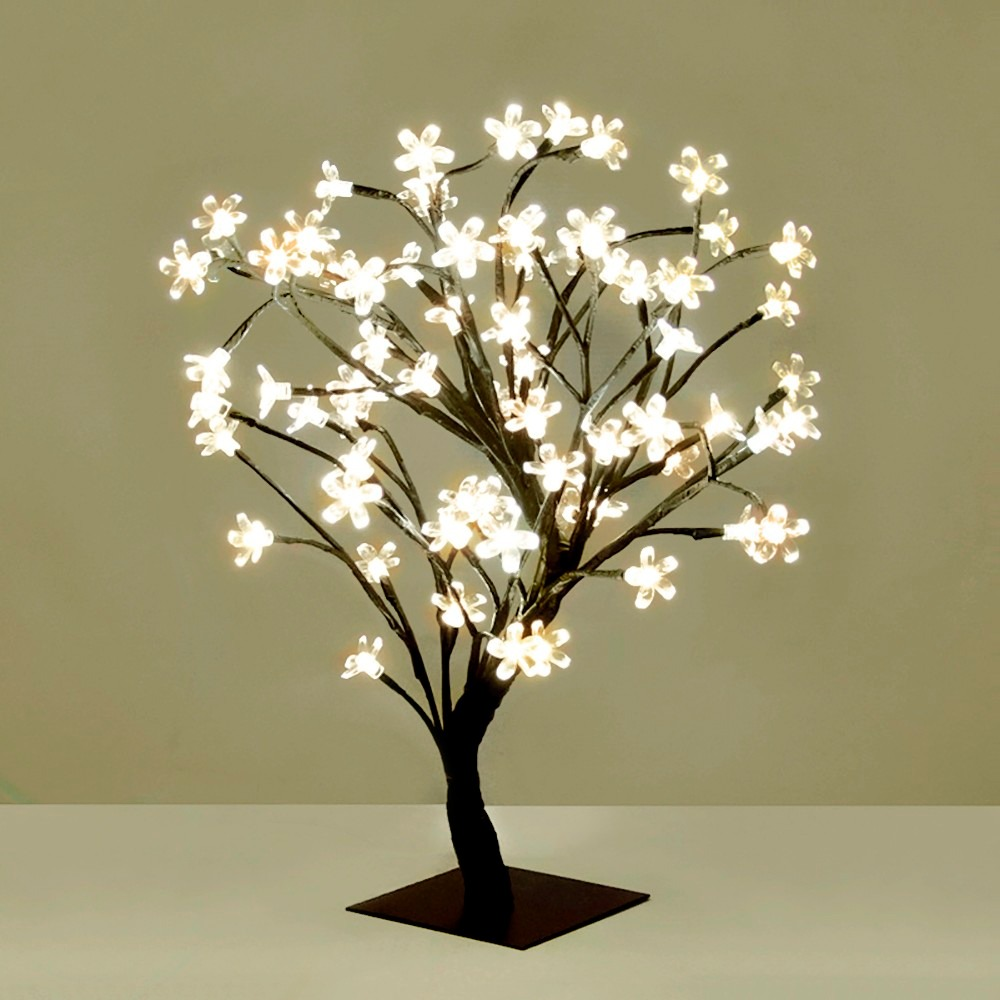 0e0591a5b2e arbol navidad luminoso bonsai luces led calido flor cerezo. Cargando zoom.