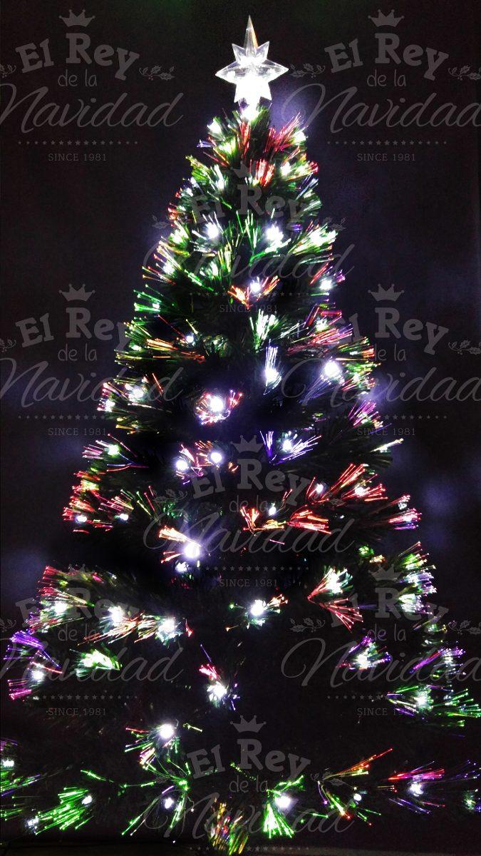 Arbol Navidad Luminoso Fibra Optica Luz Led 150 Mts Unicos