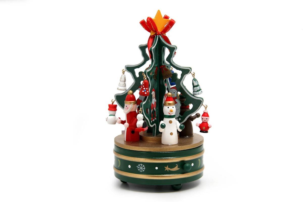 Arbol 11x21 Madera Música Movimiento Navidad Y Juguete 5 tsQdhrC