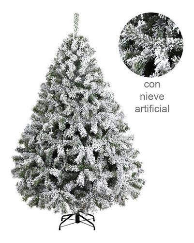 arbol navidad pachon frondoso verde aspen 2.2m naviplastic